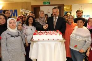 Başkan Kılıç Kadınlar Günü Etkinliklerine Katıldı