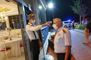 Bafra'da Düğün Salonlarına Kovid-19 Denetimi