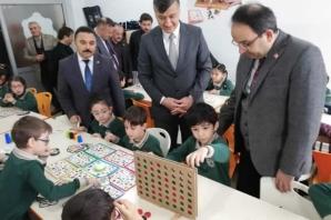 Şehit Burak Perçin İlkokulu'na Akıl Ve Zekâ Oyunları Atölyesi Açıldı