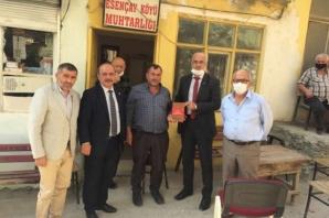 MHP Bafra İlçe Teşkilatı Ziyaretlerine Devam Ediyor
