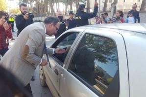 """Bafra'da """"Yaya Güvenliğinin Nöbetçisiyiz"""" Etkinliği"""