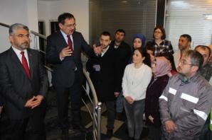 Mustafa Demir; Ulusoy Un Çalışanları İle Buluştu