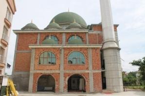 Bafra Çinili Cami İnşaatında Sona Yaklaşıldı