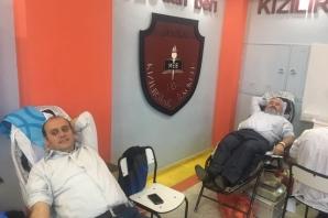 """""""Canım Ol"""" Kan Bağışı Kampanyası"""