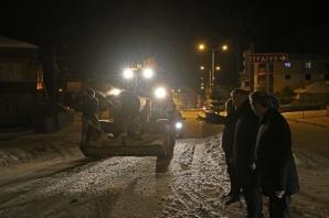 Bafra Belediyesi Hazırdı, Kar Bafra'da Sorun Olmadı