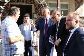 Başkan Kılıç Mahalle Ziyaretlerini Sürdürüyor