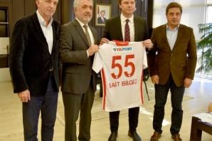 Yılport Samsunspor Teknik Direktörü Ertuğrul Sağlam Mezun Olduğu OMÜ'de