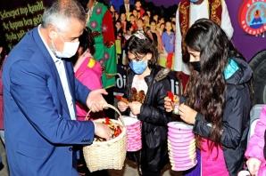 Bafra'da Selesepet Top Kandil Şenliğinde Gönüller Birdi