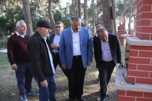 Başkan Kılıç, Çamlık Mesire Alanında İncelemelerde Bulundu