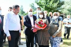 Alaçam'da 15 Temmuz Şehitleri Kabirleri Başında Anıldı