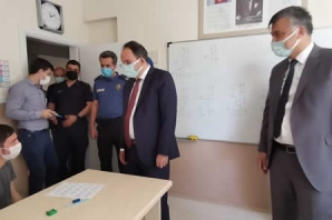 Kaymakam Cevdet Ertürkmen'den Özel Eğitim Meslek Okulu'na Ziyaret