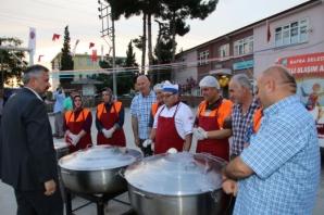 Bafra Belediyesi'nden Doğanca Mahallesinde Halk İftarı