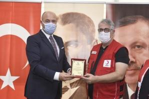 Başkan Togar Kızılay Gönüllüleriyle Bir Araya Geldi