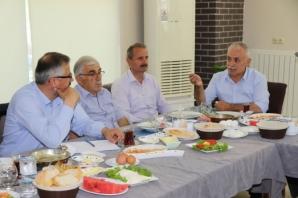 Başkan Kılıç, Mahalle Muhtarlarıyla İstişare Toplantısı Yaptı