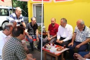 Başkan Kılıç Taksi Şoförlerinin Sosyal Medya Davetini Kırmadı