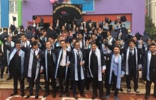 Bafra Açı Okulları'ndan Muhteşem Mezuniyet Töreni