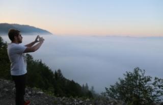 Artvin'de bulutların