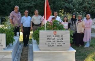 Şehit Murat Uzun; Kabri Başında Dualarla Anıldı