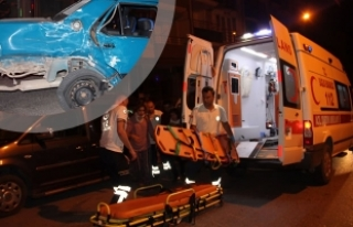 Bafra'da Trafik Kazası; 5 Yaralı