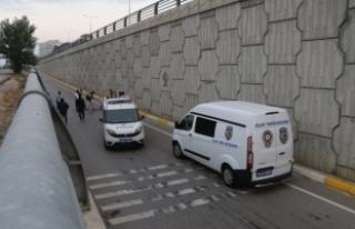 Bolu'da, bağlantı yoluna düşen kişi öldü