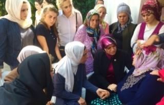 Cumhurbaşkanı Erdoğan'dan, şehit Eren'in annesine...
