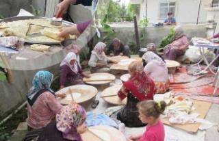 Kavak'ta Kadınlardan 15 Temmuz Şehitler Camisi'ne...