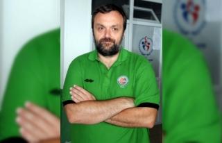 Yeşilgiresun Belediyespor Başantrenörü Uvalin: