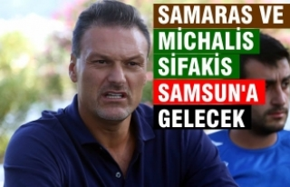 Yunan Golcü Georgios Samaras, Samsunspor Yolunda
