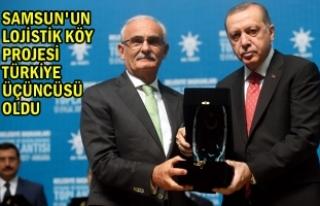 Başkan YILMAZ, Ödülü Cumhurbaşkanı ERDOĞAN'ın...