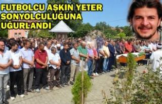 Trafik Kazasında Hayatını Kaybeden Futbolcu Toprağa...