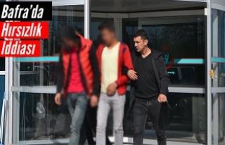 Bafra'da Hırsızlık İddiası; 2 Kişi Gözaltına...