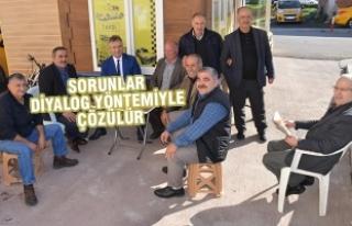 Başkan Topaloğlu; Taksici Esnafı Ziyaret Etti