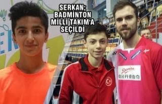 Serkan Uğurlu; Badminton Milli Takım'a Seçildi