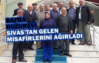 Sivas Huzurevi'nden Bafra Huzurevi'ne Ziyaret