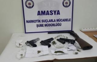 Amasya merkezli uyuşturucu operasyonu