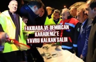 Fakıbaba Ve Demircan Karadeniz'e Yavru Kalkan...