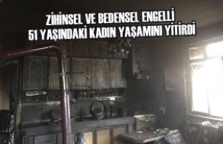 Kavak'ta Ev Yangını: 1 Ölü