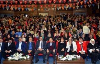 AK Parti Amasya Kadın Kolları Olağan Kongresi