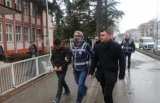Bolu'da hırsızlık zanlıları tutuklandı