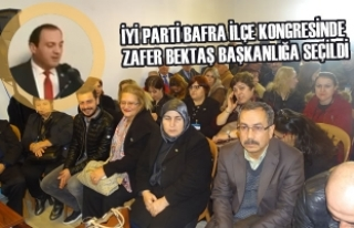 İYİ Parti Bafra İlçe Kongresinde Zafer Bektaş...
