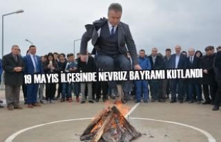 19 Mayıs İlçesinde Nevruz Bayramı Kutlandı
