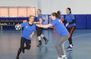 Kastamonuspor'da EHF Kupası maçı hazırlıkları...