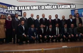 Sağlık Bakanı Ahmet Demircan Samsun'da