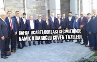 Bafra Ticaret Borsası Seçimlerinde Kibaroğlu Güven...
