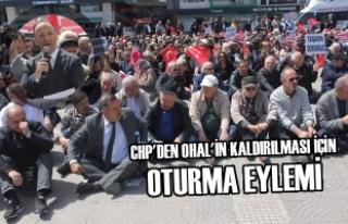 CHP'den OHAL'in Kaldırılması İçin Oturma...