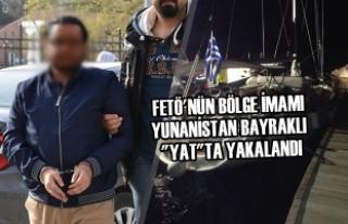 FETÖ'nün Bölge İmamı Yunanistan Bayraklı...