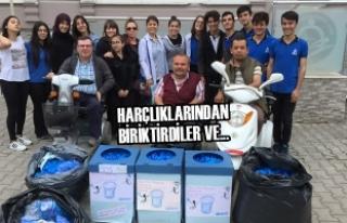 Altınkaya Anadolu Lisesi Öğrencilerinden Örnek...