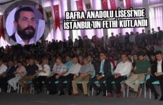 Bafra Anadolu Lisesi'nde İstanbul'un Fethi Kutlandı
