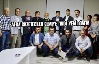 Bafra Gazeteciler Cemiyet'inde Yeni Dönem