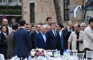 Başbakan Yıldırım Ünyelilerle iftar yaptı